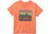 Patagonia Baby Fitz Roy Skies T-shirt Peach Sherbet